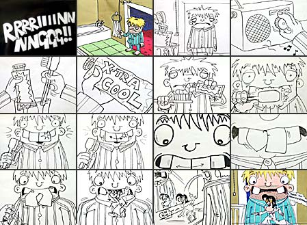 minty cool minty cool storyboard